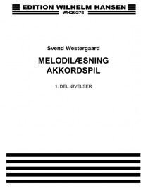 Svend Westergaard: Melodilaesning Akkordspil 1