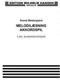 Svend Westergaard: Melodilaesning Akkordspil 2