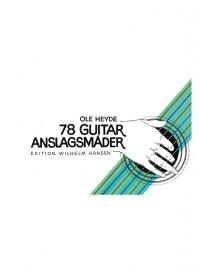 Ole Heyde: 78 Guitar-Anslagsmader