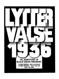 Oliver Holst: Lytternes Wienervals