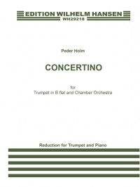 Peder Holm: Concertino For Trumpet and Piano