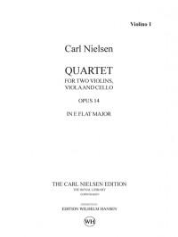 Carl Nielsen: String Quartet Op.14 In E Flat (Parts)