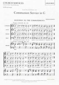 Jackson: Communion Service in G