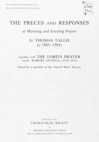 Tallis: Preces and Responses