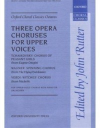 Wagner/Verdi: Three opera choruses for upper voices