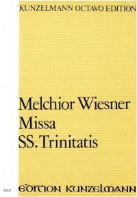 Wiesner, Melchior: Missa Trinitatis