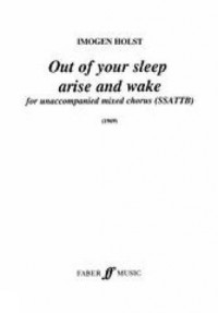 Out of your Sleep Arise. SATB div unacc