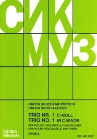 Shostakovich: Piano Trio No. 1 in C minor op. 8
