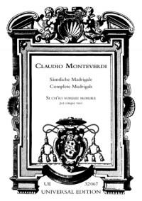 Monteverdi, C: Zefiro torna e'l bel tempo rimena SV108