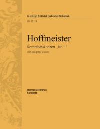 Hoffmeister, F: Kontrabasskonzert Nr. 1 D-dur