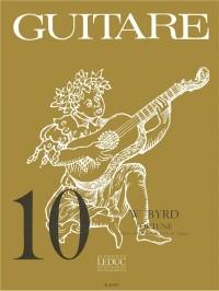 William Byrd: Fortune (coll. Guitare No.10) (Guitar solo)