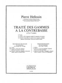 P. Hellouin: Traite des Gammes a la Contrebasse, Cycle 2a