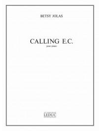 Betsy Jolas: Calling E.C.