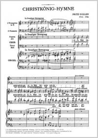 Goller: Christkönigs-Hymne (Es-Dur)