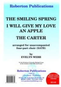 Webb: Smiling Spring/Carter/I Will Give..