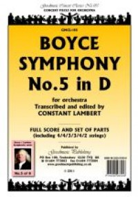William Boyce: Symphony No.5 in D