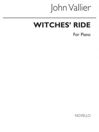 Vallier John Witches' Ride Piano Book