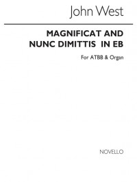 John West: Magnificat And Nunc Dimittis In Eb