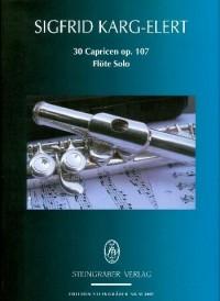 Karg-Elert, S: 30 Capricen op. 107
