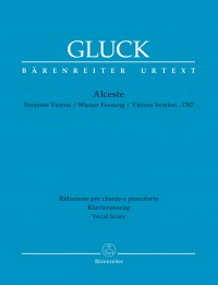 Gluck: Alceste - Vienna version 1767 (Vocal Score)