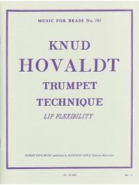 Hovaldt: Trumpet Technique Lip Flexibilit