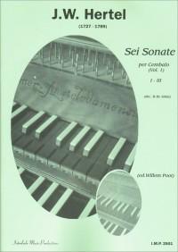 J.C. Hertel: 6 Sonaten 1 (1-3) Cembalo