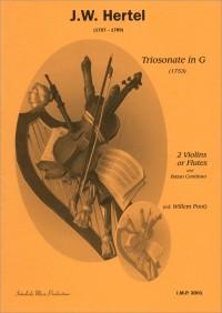 J.C. Hertel: Triosonate G