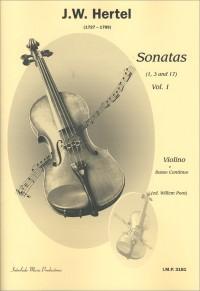 J.C. Hertel: Sonaten 1 (1-3-17)