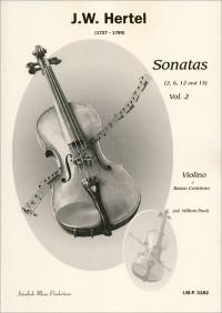 J.C. Hertel: Sonaten 2 (2 6 12 15)