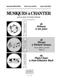 Colette Wyss: Level Musiques A Chanter 3 Niveau Diff Vol 8