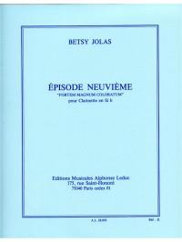Betsy Jolas: Episode NO9