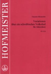 Theodor Hlouschek: Variationen über ein schwäbisches Volkslied