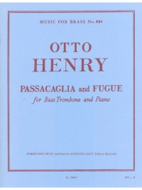 Otto Henry: Passacaglia And Fugue