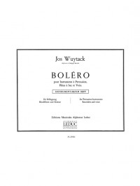 Jos Wuytack: Bolero Recorder Voice & Percussion Instrument