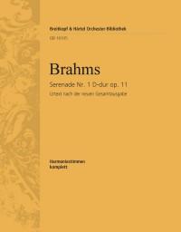 Brahms, Johannes: Serenade Nr. 1 D-dur op. 11
