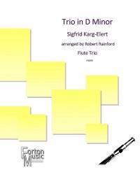 Karg-Elert, Sigfrid: Trio in D Minor