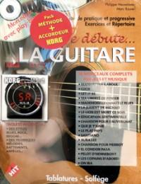 Philippe Heuvelinne: Pack no 3 Je débute la guitare avec CD +