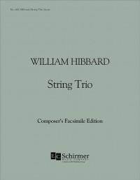 William Hibbard: String Trio