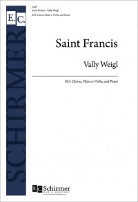 Vally Weigl: St. Francis