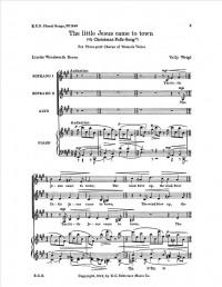 Vally Weigl: A Christmas Folk-Song