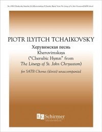 Pyotr Ilyich Tchaikovsky: The Liturgy of St. John Chrysostom