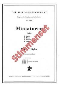Walter Huegler: Miniaturen Suite