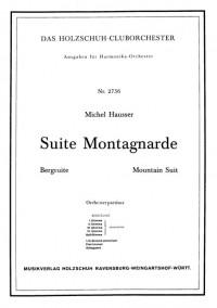 Michel Hausser: Suite Montagnarde - Bergsuite
