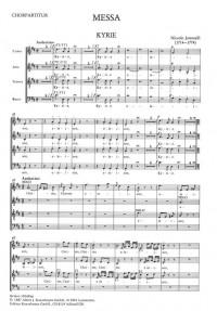 Jommelli, Niccolò: Messe D-Dur