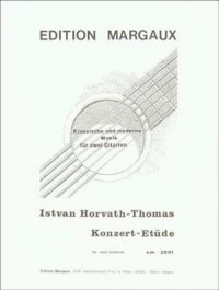 Istvan Horvath-Thomas: Konzert-Etüde