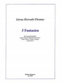 Istvan Horvath-Thomas: 5 Fantasien