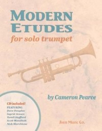 Modern Etudes for Solo Trumpet (with CD)