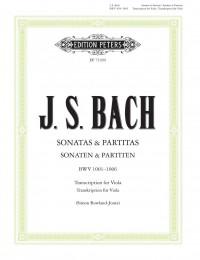 Bach, JS: 6 Solo Sonatas and Partitas for Violin BWV 1001–1006, Edition for Solo Viola