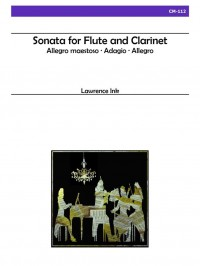 Lawrence Ink: Sonata For Flute and Clarinet