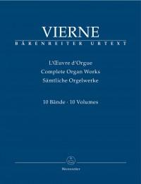 Louis Vierne: Complete Organ Works in 10 volumes